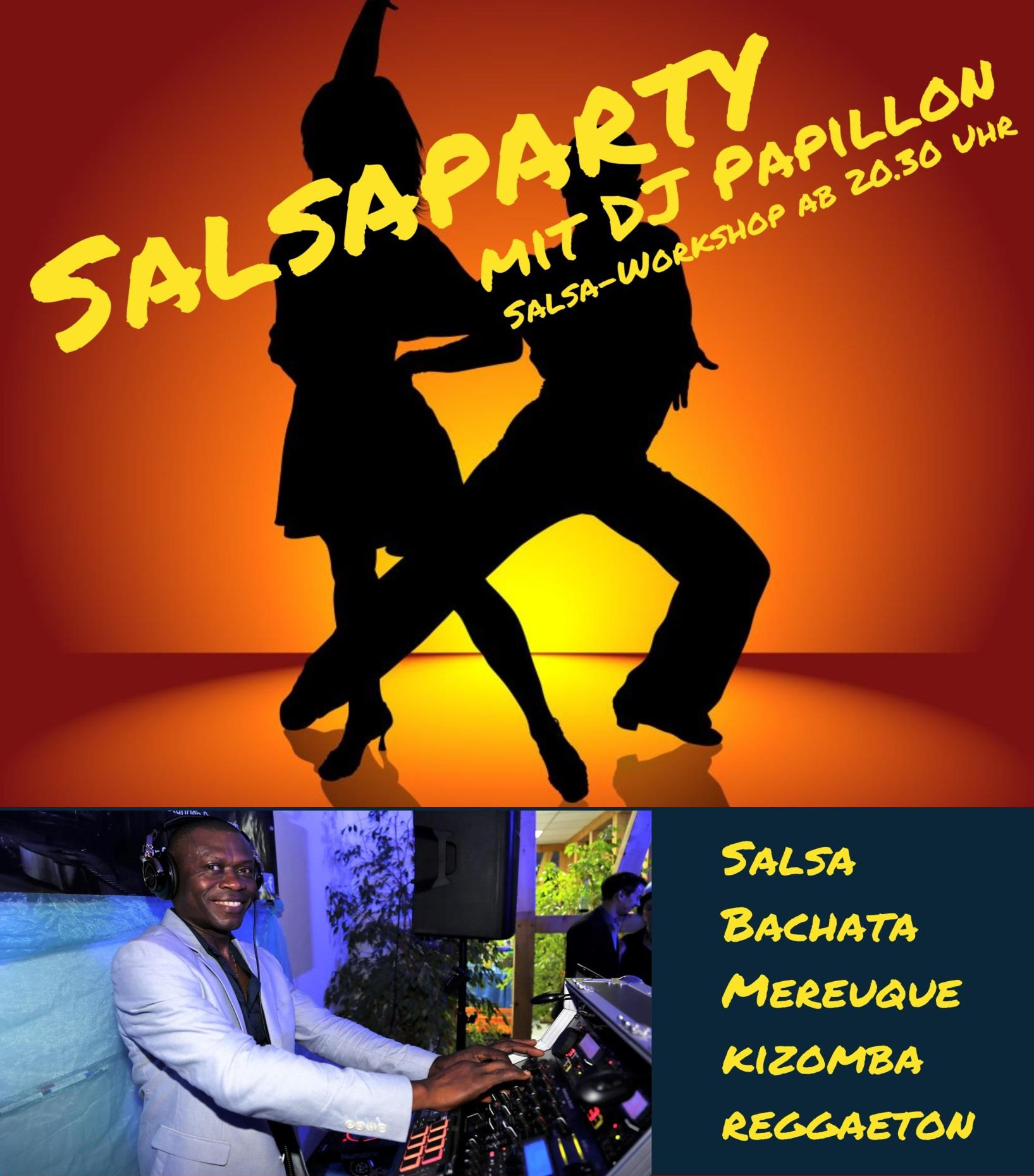 Salsa-Party mit DJ Papillon